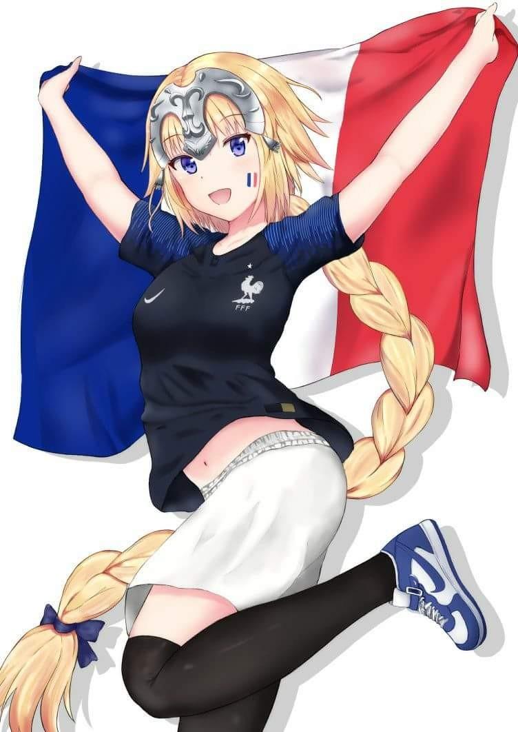 恭喜法国队世界杯夺冠